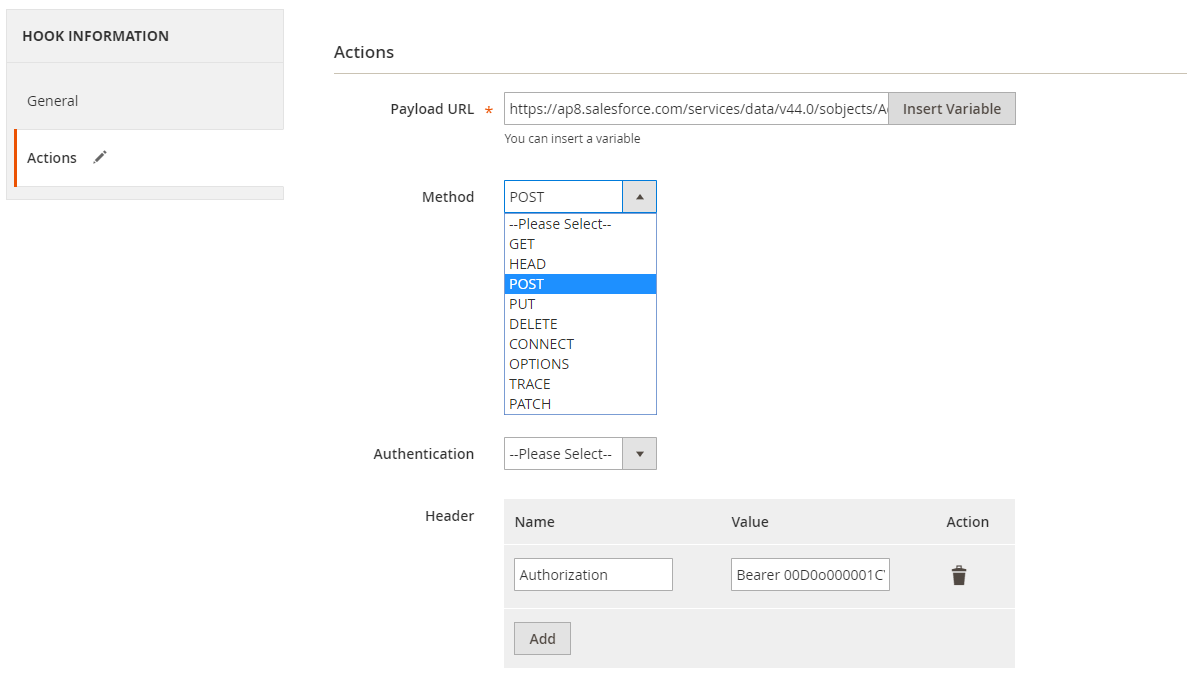 How to create a new account in Salesforce via Magento 2 image 2