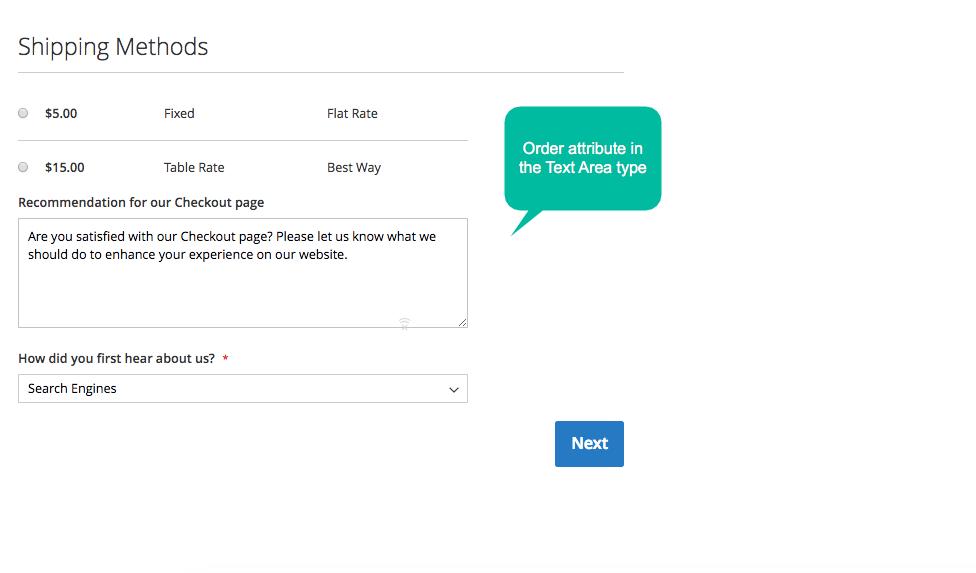 Magento 2 add a custom field to Shipping Method