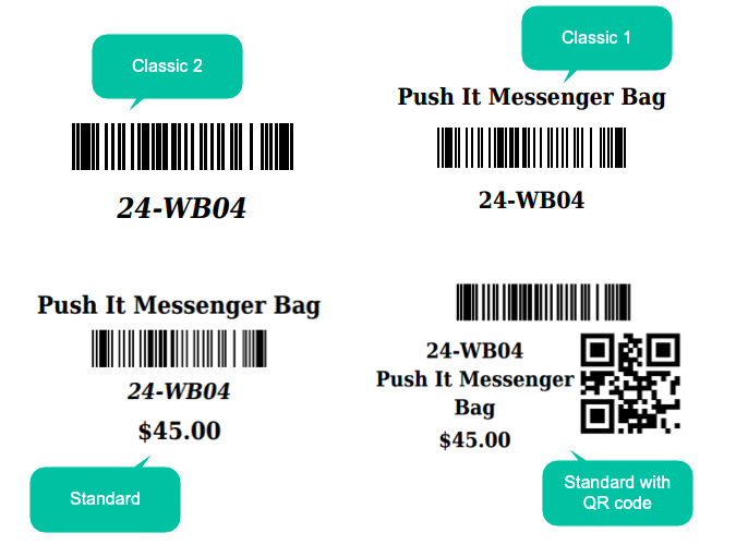 pre-made barcode labels