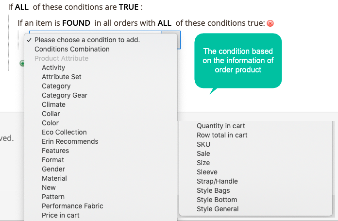 Use Product Attributes to group buyers