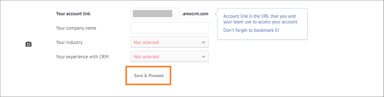 Instructions For Registering And Using AmoCRM3