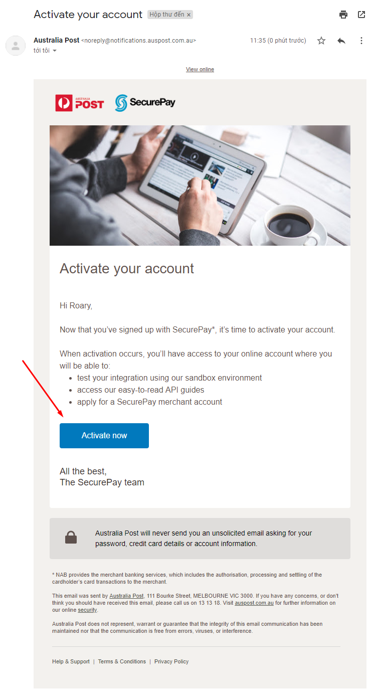 integrate SecurePay with Magento 2 checkout page 2
