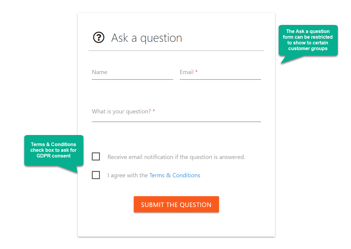 Encourage customers to interact on Q&A pages