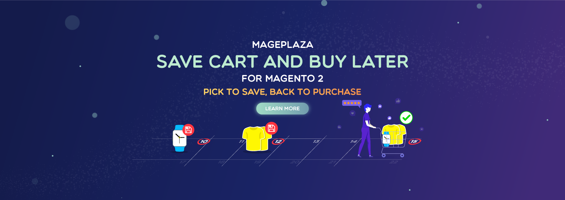 How to offer convenient shopping with Magento 2 Save Cart And Buy Later