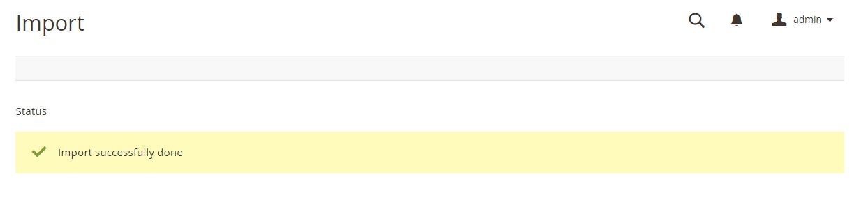 a notification