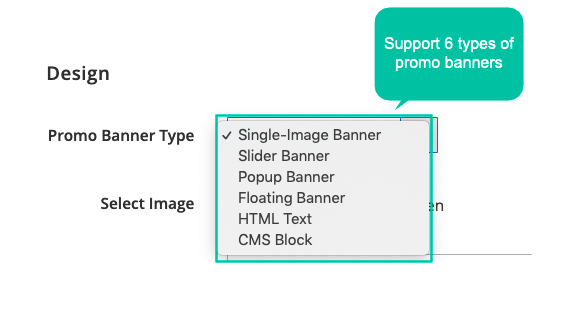 6 display styles of promotion banners
