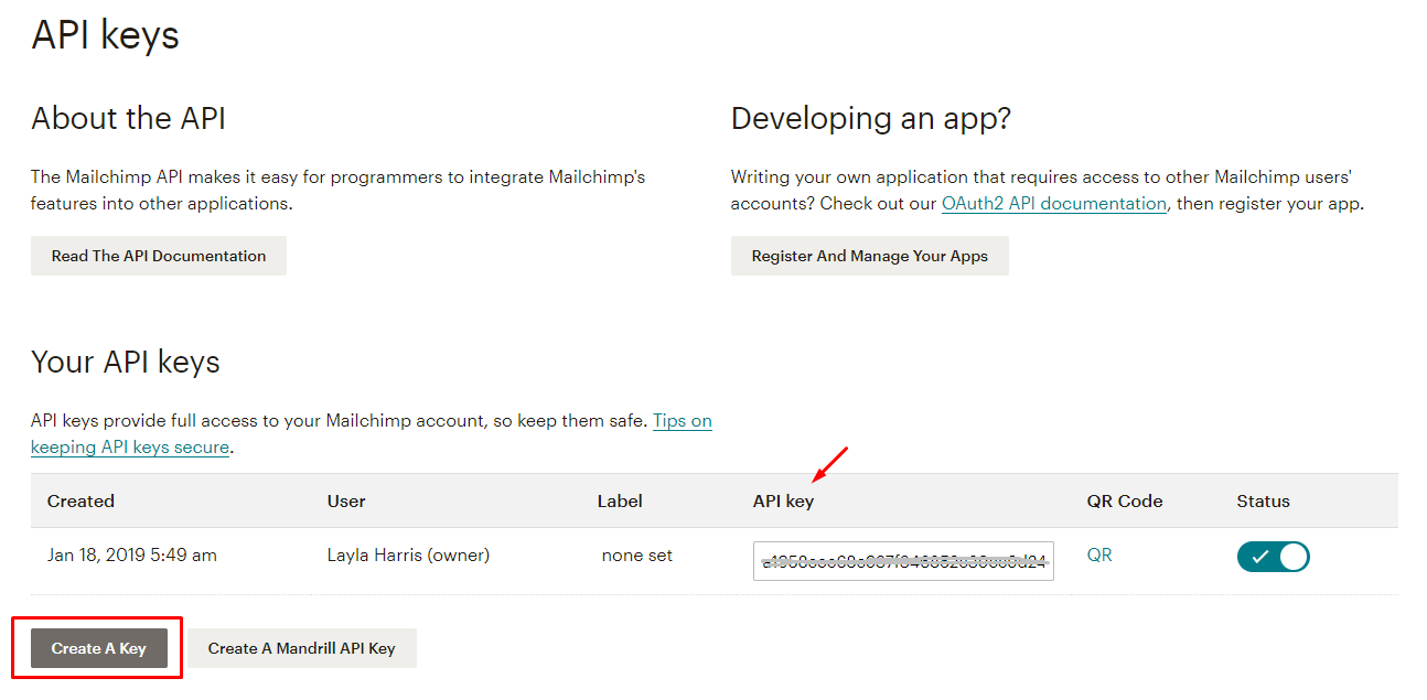 Instrucions For Registering And Using Mailchimp 5
