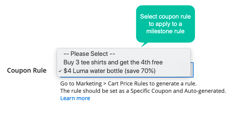 Reward customers joining new group by coupon
