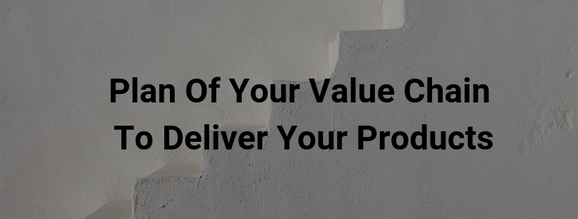 Plan Of Your Value Chain To Deliver Your Products
