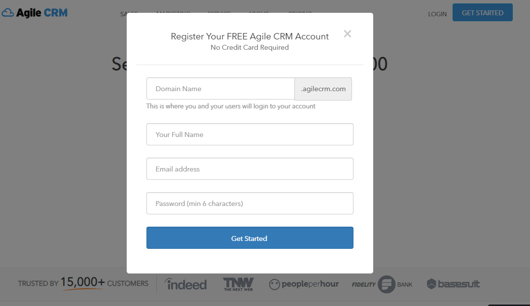 Instructions For Registering And Using Agile CRM 1