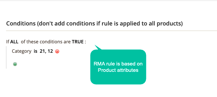 Apply RMA Based On Conditions 2