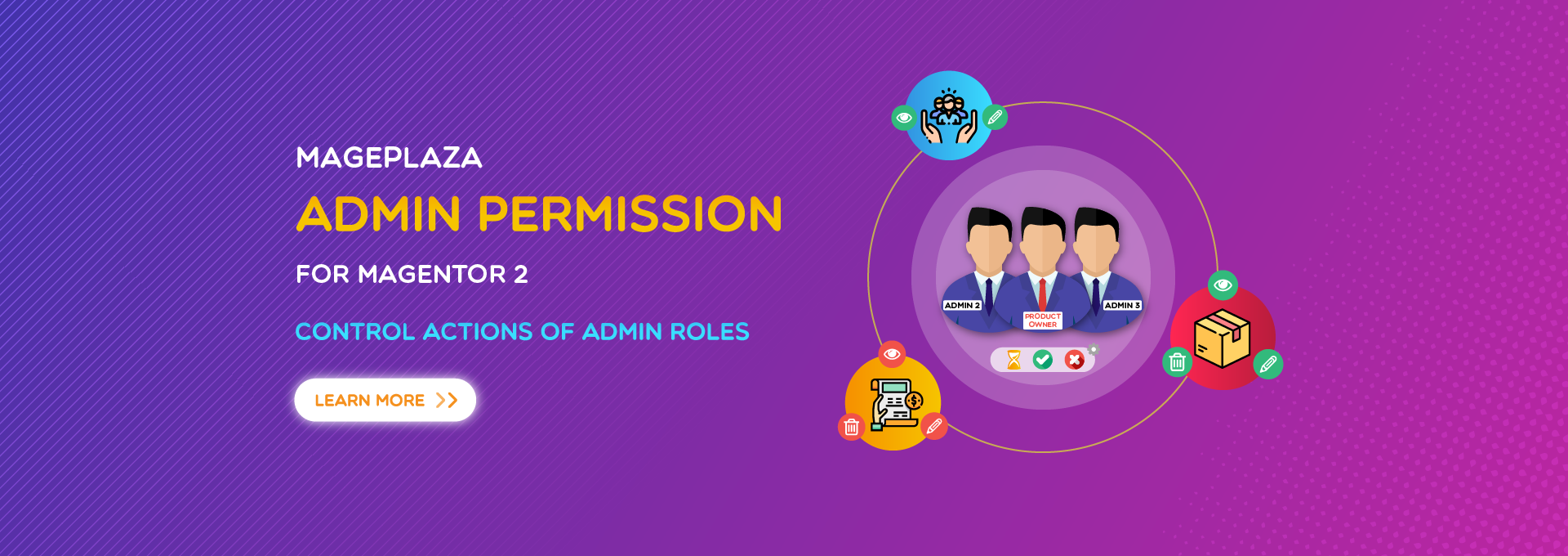 How to manage Magento 2 user roles by Admin Permissions