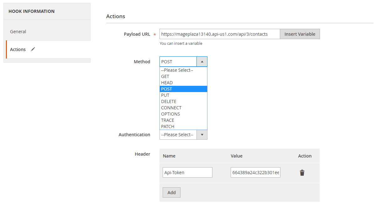 How to create a new contact in ActiveCampaign via Magento 2 image 2