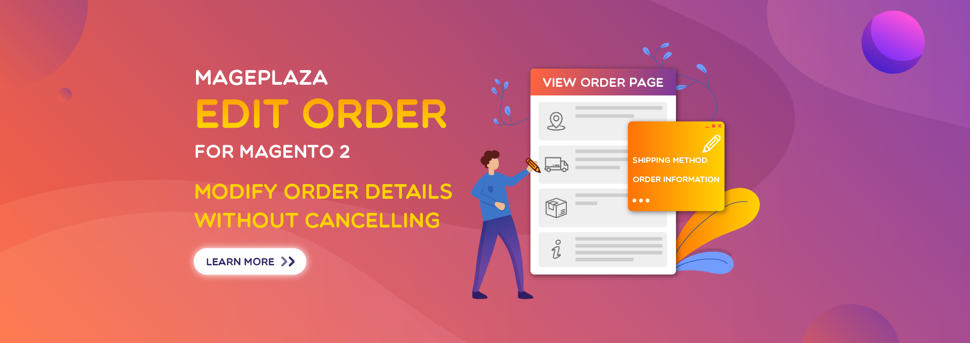 How to update orders easily with Magento 2 Edit Order?