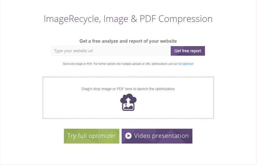 ImageRecycle Image Optimizer