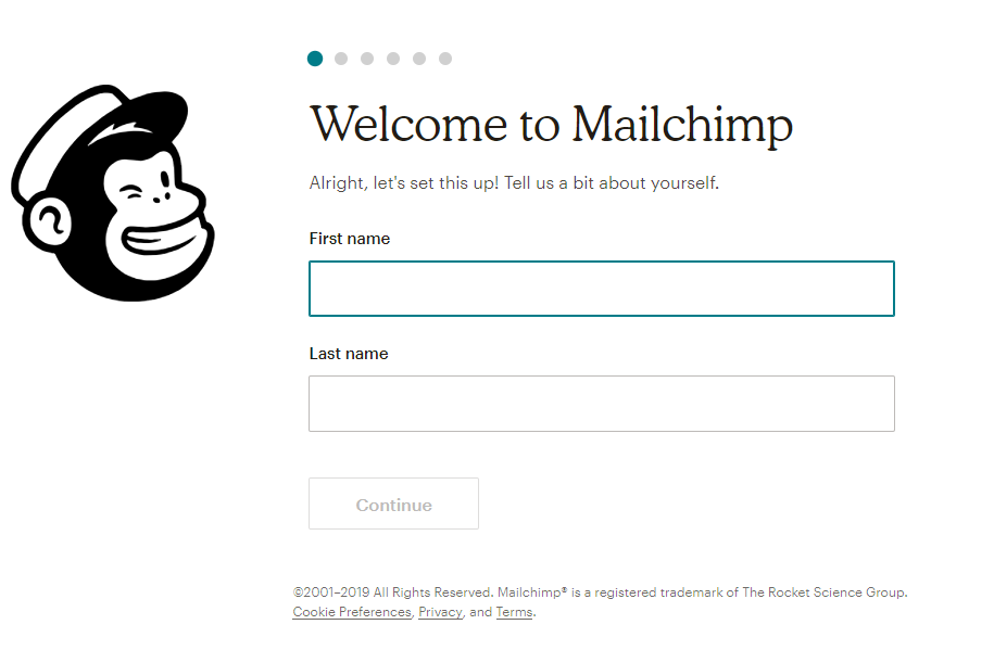 Instructions For Registering And Using Mailchimp 2