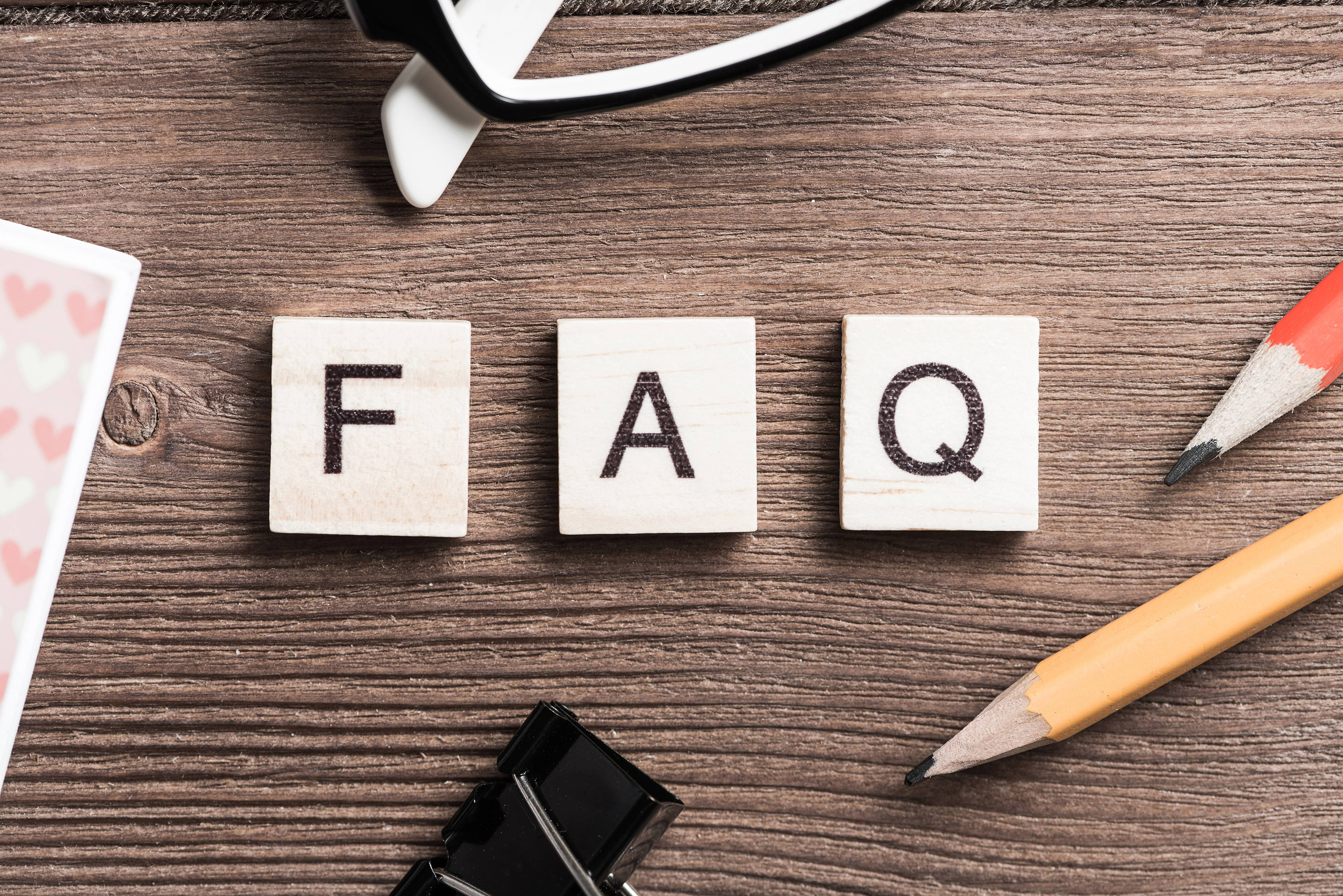 FAQ Pages