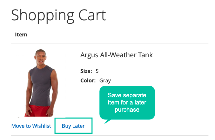 Save Products In Cart Individually