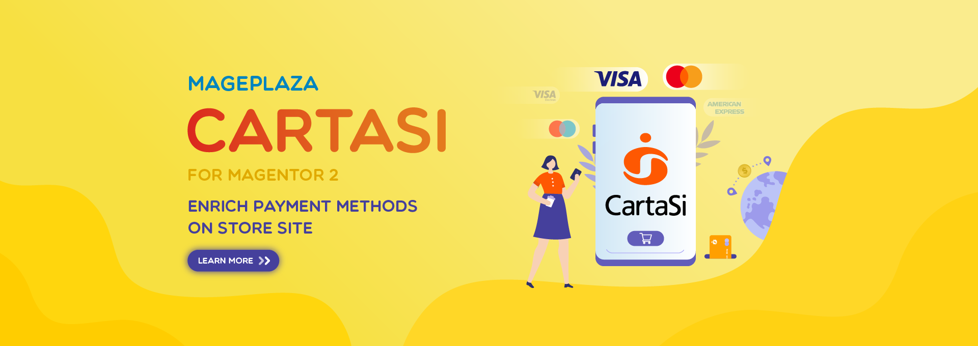How to use CartaSi Payment in Magento 2 stores