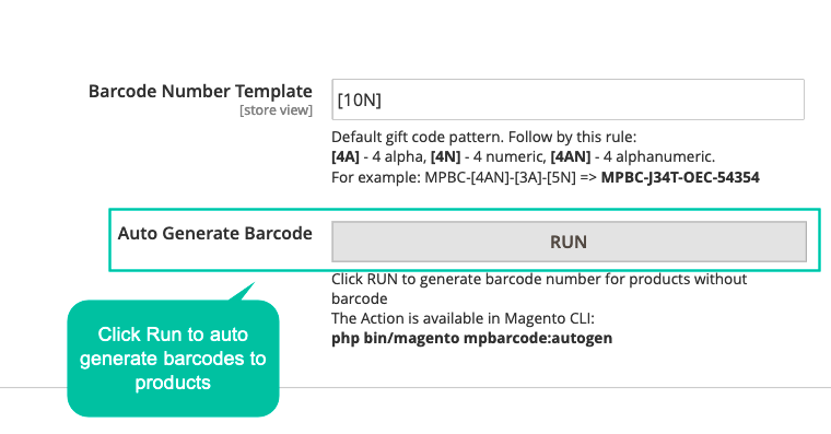 Create Barcode Automatically